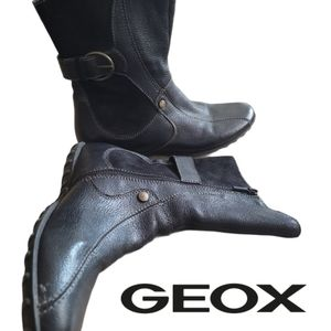 GEOX leather and suede boots
